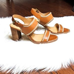 Madewell Stacked Leather Heels